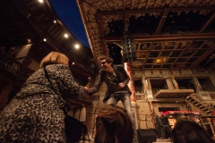 Performing at Shakespeare's The Globe