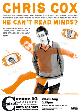 He Can't Read Minds? poster