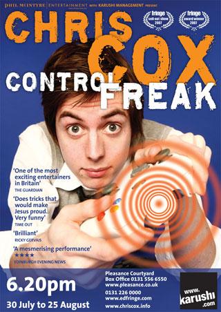 Control Freak Poster