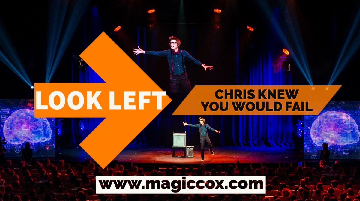 Chris Cox Mind Reader Reads Your Mind